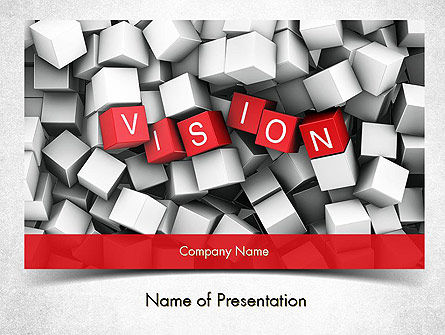 Business Concepts: Plantilla de PowerPoint - visión #11427