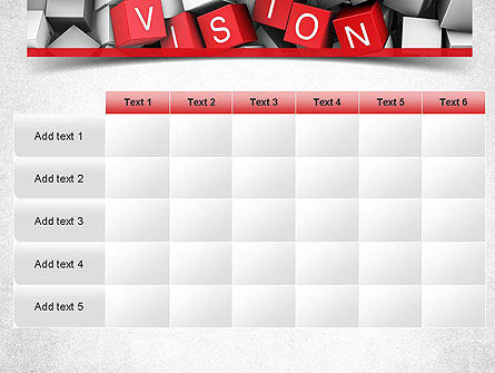 Vision PowerPoint Template Slide 15