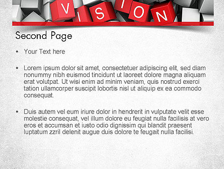 Vision PowerPoint Template, Slide 2, 11427, Business Concepts — PoweredTemplate.com