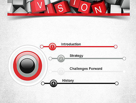 Vision PowerPoint Template, Slide 3, 11427, Business Concepts — PoweredTemplate.com
