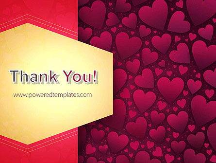 Tag of Hearts PowerPoint Template Slide 20