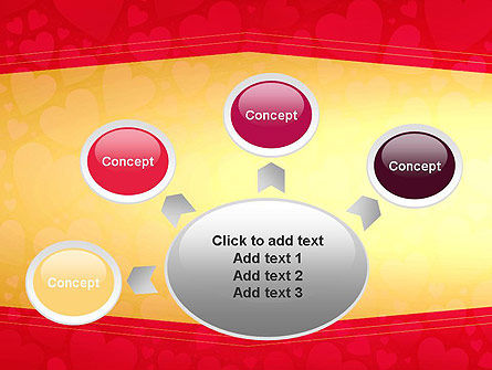 Tag of Hearts PowerPoint Template Slide 7