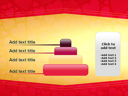 Tag of Hearts PowerPoint Template Slide 8