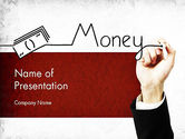 Financial/Accounting: Money Presentation PowerPoint Template #11429