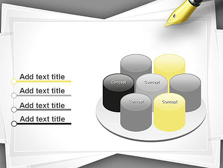 Inkpen PowerPoint Template Slide 12