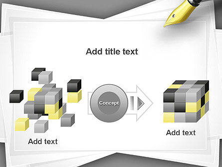 Inkpen PowerPoint Template Slide 17