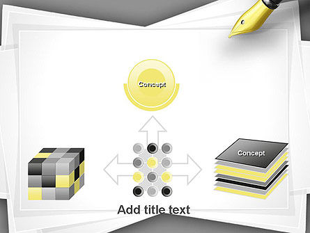 Inkpen PowerPoint Template Slide 19