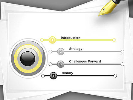 Inkpen PowerPoint Template Slide 3