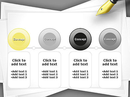Inkpen PowerPoint Template Slide 5