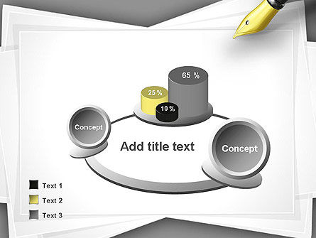 Inkpen PowerPoint Template Slide 6