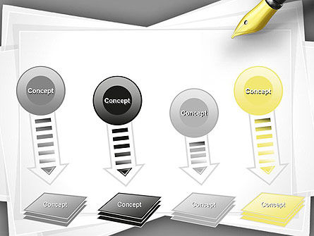 Inkpen PowerPoint Template Slide 8