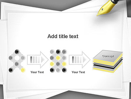 Inkpen PowerPoint Template Slide 9