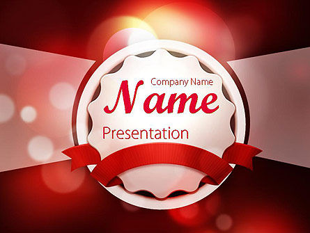 Special Occasion Background PowerPoint Template, 11432, Holiday/Special Occasion — PoweredTemplate.com