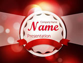 Holiday/Special Occasion: Special Occasion Background PowerPoint Template #11432