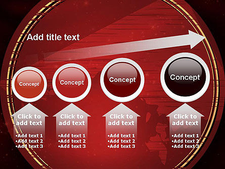 Vinous Stars Theme PowerPoint Template Slide 13