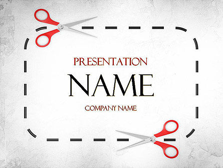 Coupon Border PowerPoint Template