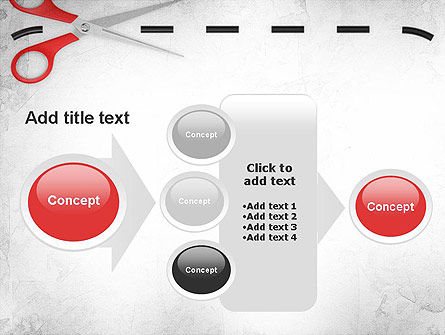 Coupon Border PowerPoint Template Slide 17
