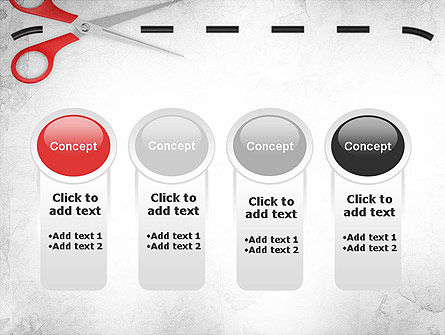 Coupon Border PowerPoint Template Slide 5