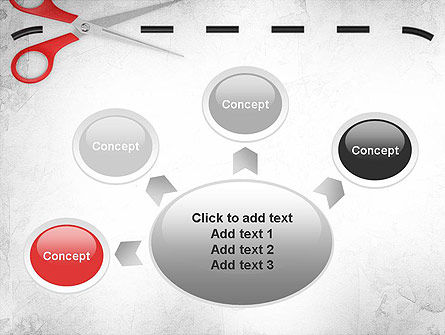 Coupon Border PowerPoint Template Slide 7