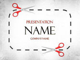 Careers/Industry: Coupon Border PowerPoint Template #11437