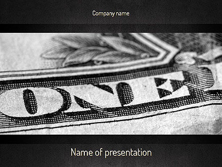 One Dollar PowerPoint Template
