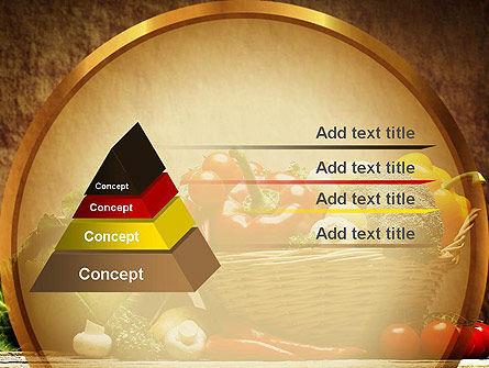 Vegetable Basket PowerPoint Template Slide 12