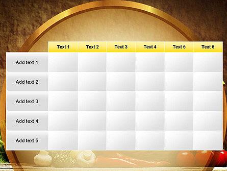 Vegetable Basket PowerPoint Template Slide 15