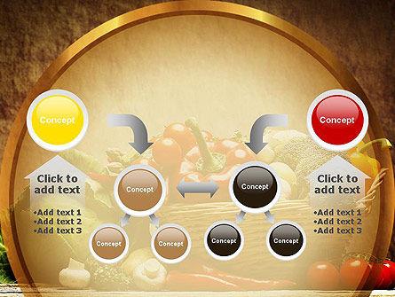 Vegetable Basket PowerPoint Template Slide 19