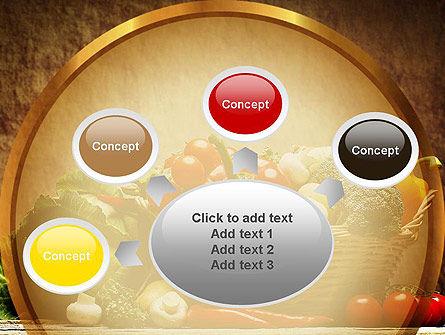 Vegetable Basket PowerPoint Template Slide 7