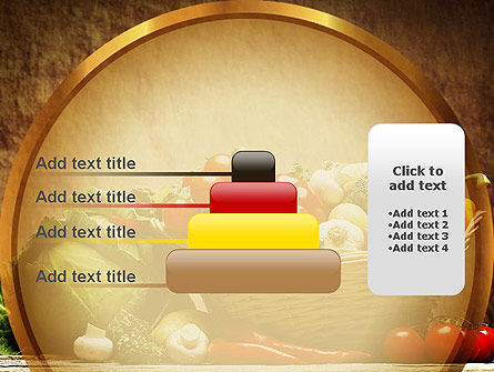 Vegetable Basket PowerPoint Template Slide 8