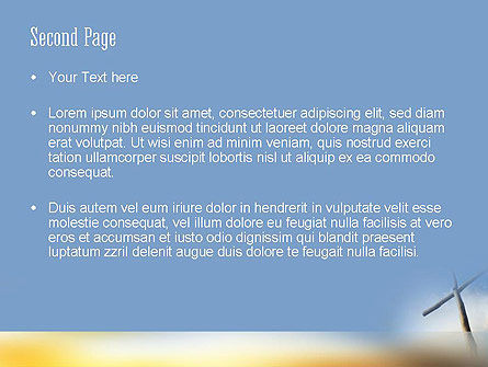 Sunrise Cross Theme PowerPoint Template, Slide 2, 11450, Religious/Spiritual — PoweredTemplate.com