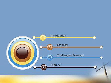 Sunrise Cross Theme PowerPoint Template, Slide 3, 11450, Religious/Spiritual — PoweredTemplate.com