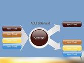 Sunrise Cross Theme PowerPoint Template#14