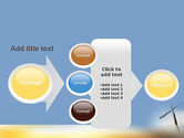Sunrise Cross Theme PowerPoint Template#17
