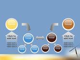 Sunrise Cross Theme PowerPoint Template#19