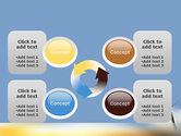 Sunrise Cross Theme PowerPoint Template#9