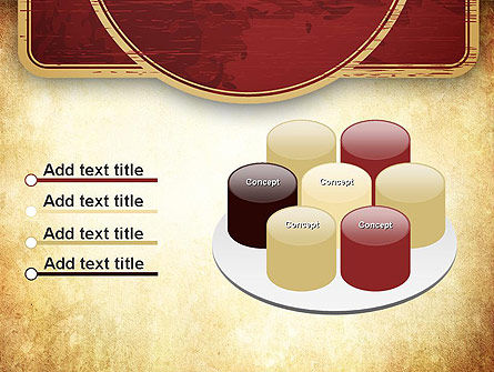 Vintage Label Theme PowerPoint Template Slide 12