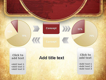 Vintage Label Theme PowerPoint Template Slide 16