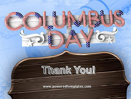 Columbus Day Theme PowerPoint Template Slide 20