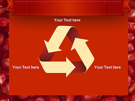 Pomegranate Seeds PowerPoint Template Slide 10
