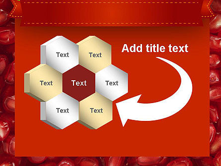 Pomegranate Seeds PowerPoint Template Slide 11