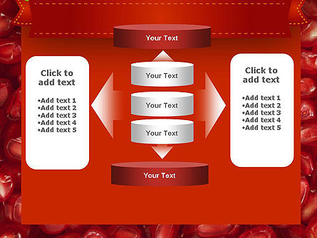 Pomegranate Seeds PowerPoint Template Slide 13