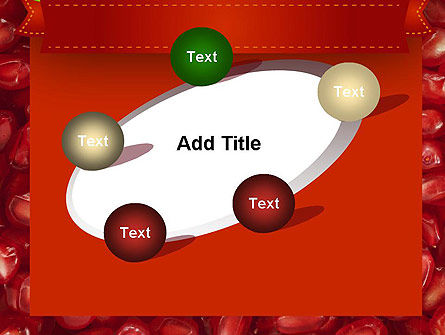 Pomegranate Seeds PowerPoint Template Slide 14