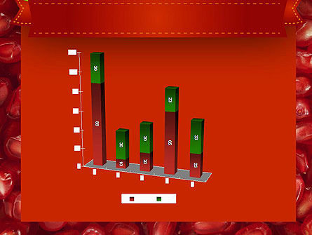 Pomegranate Seeds PowerPoint Template Slide 17