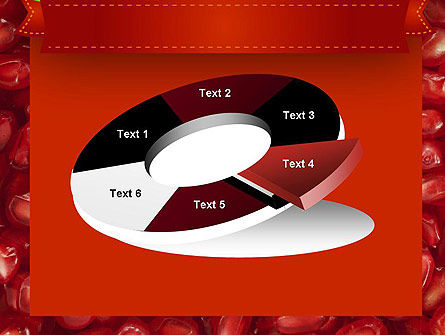 Pomegranate Seeds PowerPoint Template Slide 19
