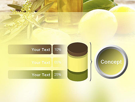 Olive Essential Oils PowerPoint Template Slide 11
