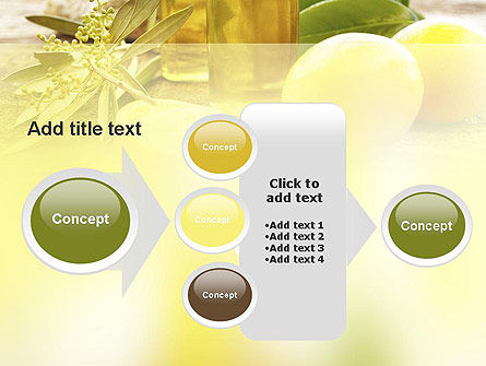 Olive Essential Oils PowerPoint Template Slide 17