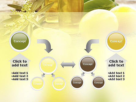 Olive Essential Oils PowerPoint Template Slide 19
