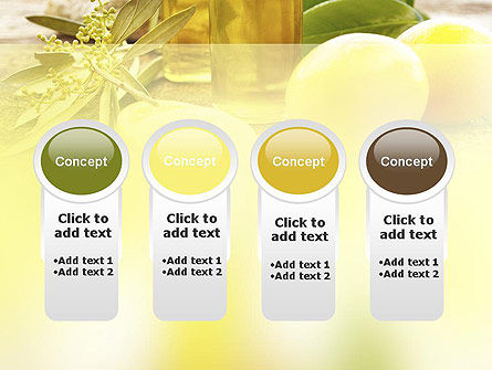 Olive Essential Oils PowerPoint Template Slide 5