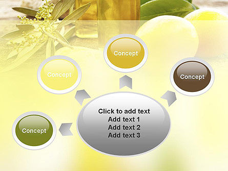 Olive Essential Oils PowerPoint Template Slide 7
